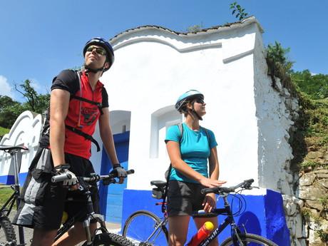 на велосипеде по Южной Моравии