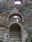 лестница из подвала