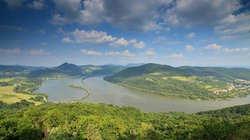 panoramatický pohled z Holíše