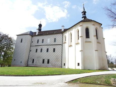 kaple, která je součástí zámku