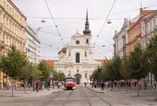 улица Йоштова – остановка «Ческа»