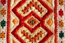 embroidery of Cicmany