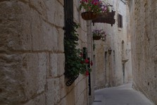 a street in beautiful Mdina