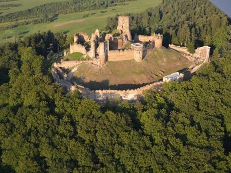 Zborovsky castle