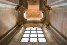 interiér chrámu svatého Petra a Pavla