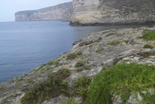 cliffs on Gozo