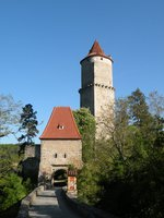 Pisecka gate and Hlaska Tower