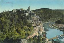 hrad zvíkov na staré pohlednici