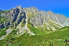 vrch Satan (2 421 m n. m.) z Mengusovské doliny