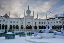 palác v parku Tivoli