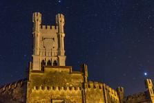 večerní zámek