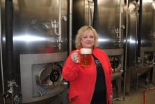 the chief brewer – Radovana Kocmanová