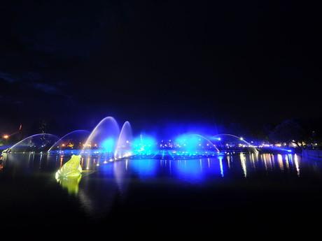 Aquanura – играющий фонтан