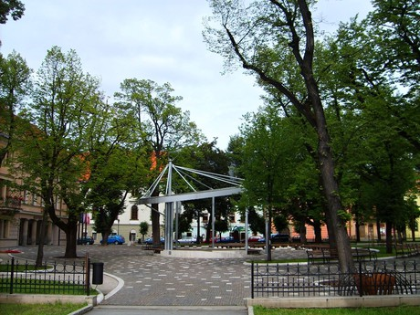 Levoča - park