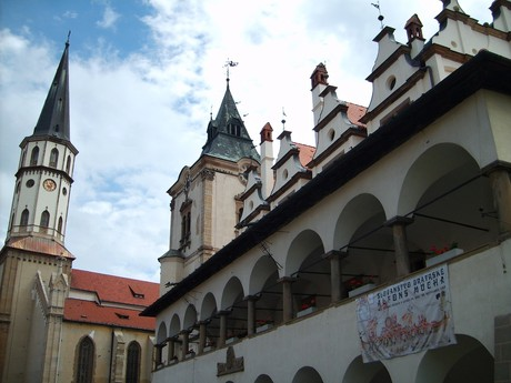 Levoča – St Jacob church and old town hall