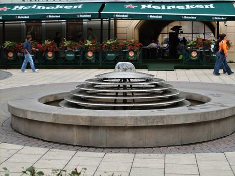 Спишска-Нова-Вес — исторический центр (фонтан)