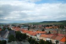 Спишска-Нова-Вес — вид с башни костела Вознесения Девы Марии