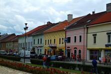 Spišská Nová Ves – historical center