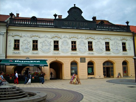 Spišská Nová Ves – Provincni House and the so called Levocska Gate