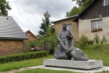 Jar. Hasek statue, Lipnice nad Sazavou