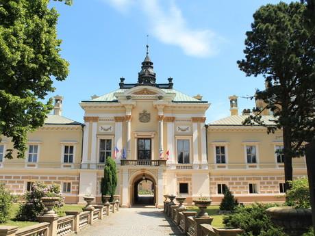 Svetla nad Sazavou chateau