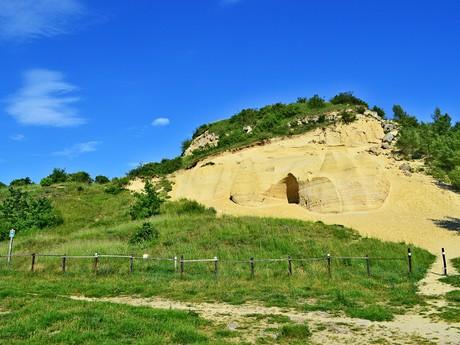chránená paleontologická lokalita Sandberg