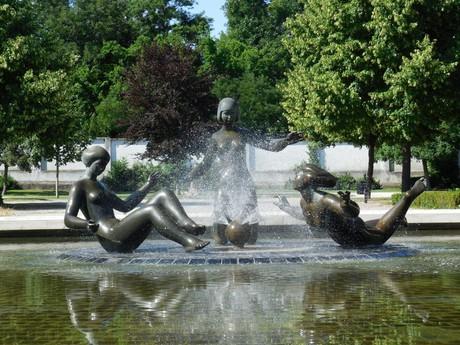 Radost ze zivota (Joy of Life) fountain