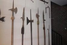 výstava dobových zbraní