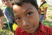 barmské děti