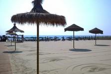soukromá pláž v Catanii