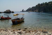 Таормина - общественный пляж