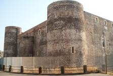byzantský hrad Castello Ursino