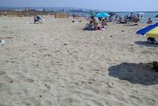 mírnější ukážka z veřejné pláže v Catanii