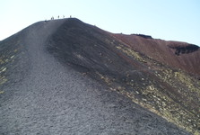 walking around craters