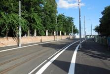 silnice k novému Starému mostu