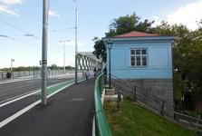 silnice k novému Starému mostu (Muzeum celnictví)