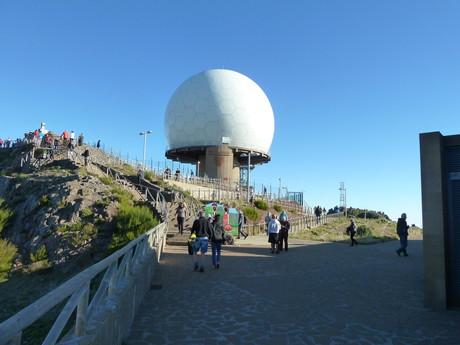 Pico do Arieiro, observatory
