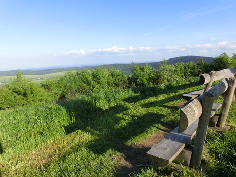 the Ore Mountains
