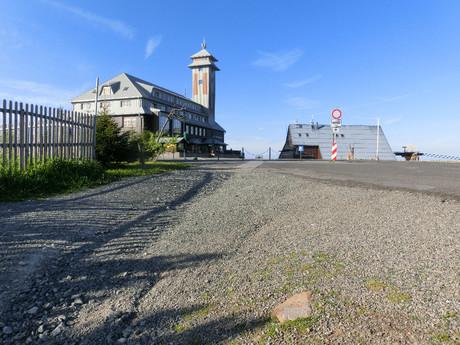 Фихтельберг с посадочной площадкой для вертолетов