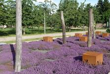 Врхлаби, монастырский сад