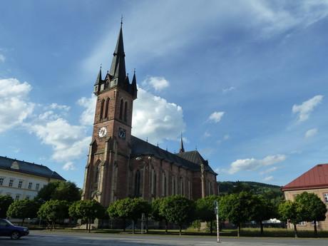 Vrchlabi, st Vavrinec church