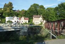 Vrchlabí, a bridge across the Elbe