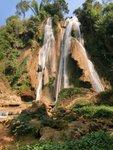 you can take a bath below the waterfall