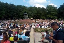 a concert, Łazienki park