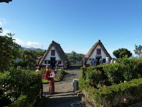 Madeira, Santana town