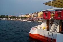 Umag – the view of the promenade
