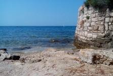 Umag – pláž