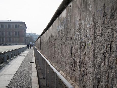 берлинская стена на Niederkirchnerstraße