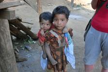 barmský kmen pod Mt. Victorií