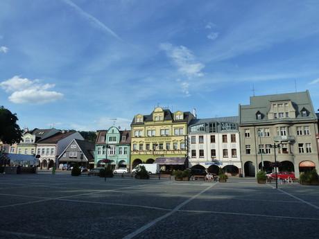 Vrchlabí, T.G. Masaryk square